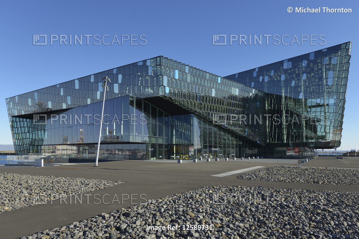 The Harpa, Concert Hall and Conference Centre, Reykjavik, Gullbringusysla, ...